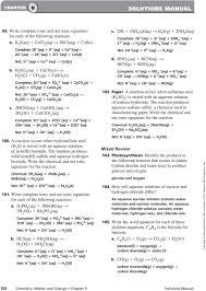 balancing chemical equations chapter 7 worksheet 1