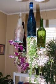 Wine Bottle Planters by Village Metal Wine Bottle Candelabra For 5 Candles Home Decor