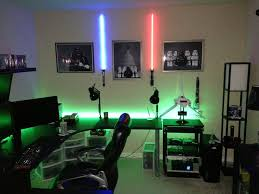 Gaming Desk Setup by 43 Best Ultimate Gaming Room Images On Pinterest Gaming Rooms
