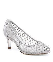 wedding shoes dillards silver women s bridal wedding shoes dillards
