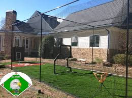 40 ft long batting cage frame and net ideal batting cage for
