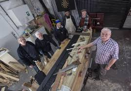 Woodworking Shows 2013 Scotland by How The Men U0027s Shed Movement Is Helping Older Men Fight Isolation