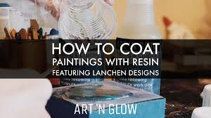 should i put a top coat on painted cabinets step by step guide how to coat paintings with resin