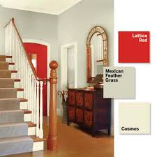 3 small spaces 9 bold color ideas entry foyer bold colors and