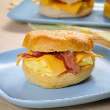 bacon egg and cheese biscuit sandwiches youtube
