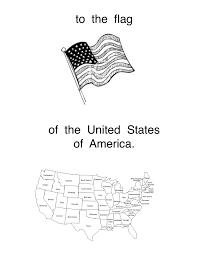 I Pledge Allegiance To The Flag Lyrics The Pledge Of Allegiance Kindergarten Nana