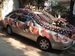 hochzeitsdekoration auto 183 besten indian wedding cars bilder auf floral