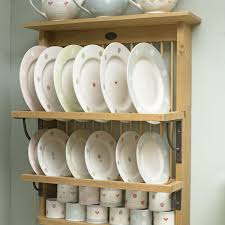 plate hangers for wall mounted plates interior rustic polished iron wall plate rack with cup shelves