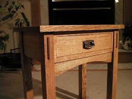 Arts And Crafts Writing Desk Arts And Crafts Side Table By John Nixon Lumberjocks Com