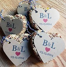 bird seed wedding favors 11 inexpensive garden themed wedding favors that your guests will