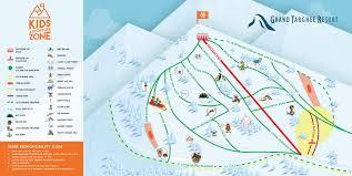Montana Ski Resorts Map by Grand Targhee Trail Maps Grand Targhee Resort