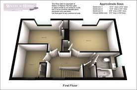 Walton House Floor Plan 3 Bedroom Semi Detached House For Sale In Hoarstone Hagley