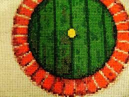 Hobbit Hole Washington by Bless This Hobbit Hole Cross Stitch Pattern Home Decor Lord