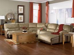 Upholsters Living Room Fantastic Living Room With Microfiber Sectional