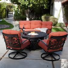 Patio Table With Firepit Patio Set With Firepit Table New Furniture Pit California