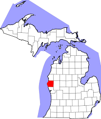 map of rothbury file map of michigan highlighting oceana county svg wikimedia