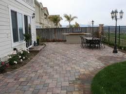 Backyard Paver Designs Concrete Paver Patios The Concrete Network - Backyard paver designs