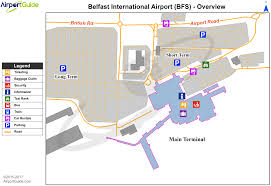 Nashville Airport Map Belfast George Best Belfast City Bhd Airport Terminal Map