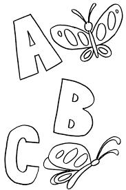 print u0026 download abc animals coloring pages kindergarten