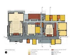 performing arts center renderings
