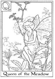 fairy coloring pages adults 5 2012 alphabet