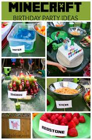 minecraft birthday party birthday party ideas