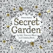 secret garden coloring book chile secret garden inky treasure hunt coloring book johanna basford