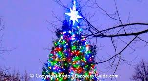 Christmas Tree Lighting Boston Events December 2017 Top Things To Do Boston Discovery