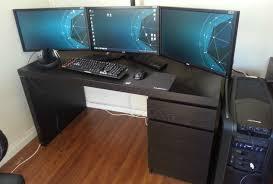 Programmer Desk Setup Desk Amazing Gaming Desk Setup Bright Gaming Computer Desk One