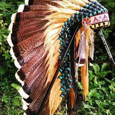 turkey feather headband shop american indian headdress on wanelo