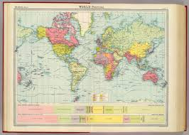 World Political Map by World Political David Rumsey Historical Map Collection