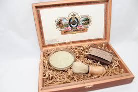 men s gift set cigar box kit soap