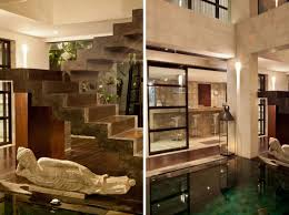stairs casa hannah in bali indonesia by bo design