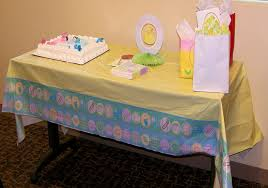 decorated baby shower table free stock photo public domain pictures
