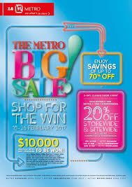 the metro big sale 10 26 feb 2017 by metrosingapore issuu