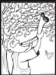 Rosh Hashonah Jewish New Year Coloring Page For Kids For More Rosh Hashanah Colouring Pages