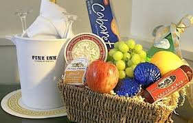 Fruit And Cheese Gift Baskets Carmel Hotels Pine Inn Carmel By The Sea Ca