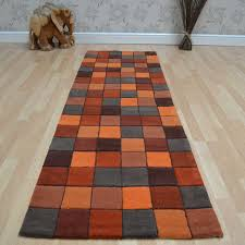 plaid area rugs furniture adorable carpet runners for hallways bring luxurious