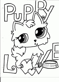 littlest pet shop coloring pages of dogs lps coloring book pages new littlest pet shop coloring pages dog