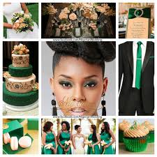 unique wedding colors wedding colors emerald green