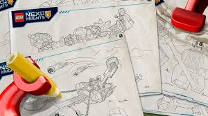 nexo knights products colouring page activities nexo knights