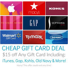 cheap gift card 15 any gift card from raise itunes gift card 7 75