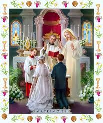 sacrement du mariage les sacrements images saintes