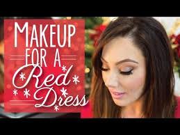 makeup for a red dress makeup geek youtube