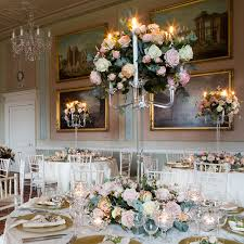wedding flowers table table centrepieces by get knotted beautiful floral decorations