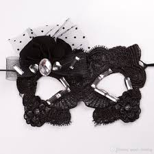 sale potograph lace mask black fashion eye for women lady