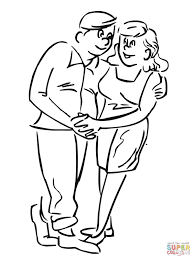 couple in love coloring page free printable coloring pages