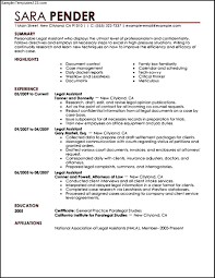 Examples Of Resume Objective Statements In General Resume Objective For Paralegal