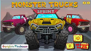 Monster Truck Games Videos Monster Truck Sprint Monster Truck