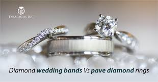 diamonds rings wedding images How diamond wedding bands differ from pave diamond rings jpg